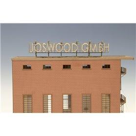 Joswood 40175 Laserskurna bokstäver i trä för att skapa egna skyltar