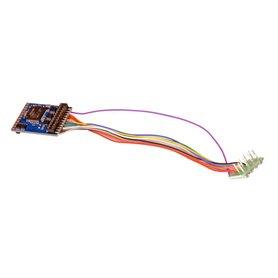 ESU 59610 Lokdekoder LokPilot 5 DCC/MM/SX/M4, 8-pin NEM652, gauge H0, 0