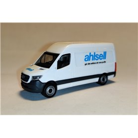 "AHM AH-929 Mercedes-Benz Sprinter `18 box type with high roof, white ""Ahlsell"""