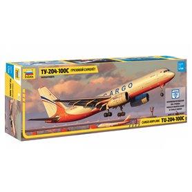 Zvezda 7031 Flygplan Cargo airplane TU-204-100C