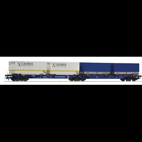 """Roco 76633 Dubbelvagn Sggmrs AG AAE """"Schenker Eurocargo"""""""