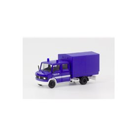 """Herpa 094801 Mercedes-Benz T2 double cabin with canvas """"THW"""""""