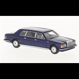 BOS 87361 Rolls Royce Silver Track II Touring Limousine, mörkblå, 1985