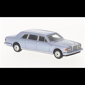 BOS 87360 Rolls Royce Silver Track II Touring Limousine, ljusblå, 1985