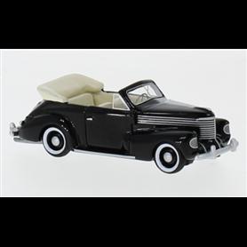 BOS 87625 Opel Kapitän Cabriolet, svart, 1939