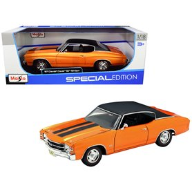 Maisto 31890 Chevrolet Chevelle SS 454 1971, orange