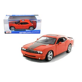 Maisto 31280 Dodge Challenger SRT8 2008, orange