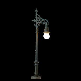 """Brawa 4604 Parklampa """"Berlin-Charlottenburg"""", 1 st, höjd 65 mm"""