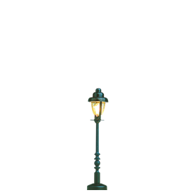 Brawa 5190 Parklampa, höjd 50 mm