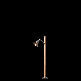 Brawa 84061 Torglampa, trämast, 1 st, höjd 80 mm