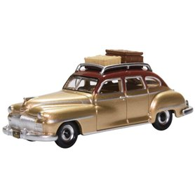 Oxford Models 133457 Desoto Suburban 1946 Rhythm Brown/trumpet Gold