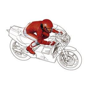 Figur Straight Run Rider