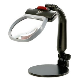Tamiya 74110 Stand Loupe Pro with 1.8x Multi-Coated Lens