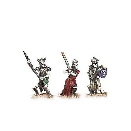 Prince August 682 Fantasy Armies, Skelett 3 st, 25mm höga