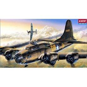 Academy 12495 Flygplan B-17F Memphis Belle