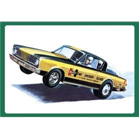 """AMT 1153 Plymouth Barracuda 1966 """"Hemi Under Glass"""""""