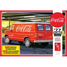 "AMT 1173 Ford Van 1977 with vending machine ""Coca Cola"""