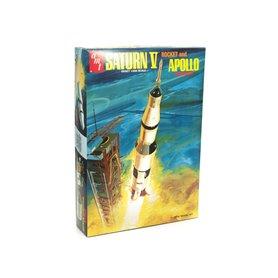 AMT 1174 Saturn V Rocket and Apollo Spacecraft