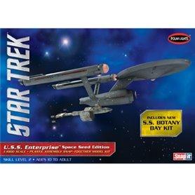 "Polar Lights 908 Star Trek USS Enterprise ""Space Seed"" Edition ""Snap Kit"""