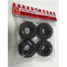 AMT PP026 Monster Truck Tire Parts Pack