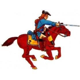 Prince August 931 Karoliner, Kavallerist, 40mm höga