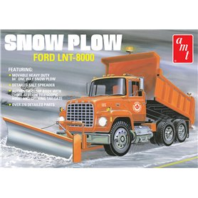 AMT 1178 Ford LNT-8000 Snow Plow
