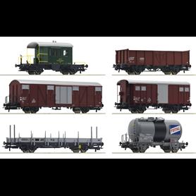 "Roco 76051 Vagnsset med 6 godsvagnar typ SBB ""Gotthardbahn"""