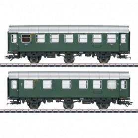 Märklin 43174 Vagnsset med 2 personvagnar 2|3.e klass typ DB