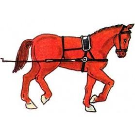 Prince August 956 Karoliner, Artillerihäst, 40mm hög