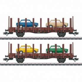 Märklin 46404 DAF 66 Flat Car Set