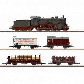 Märklin 81302 K.P.E.V. Provincial Railroad Freight Train Set