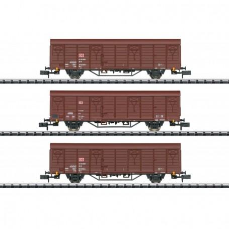 Trix 18901 Type Gbs 258 Freight Car Set