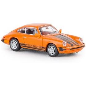 Brekina 16317 Porsche 911 G orange, TD