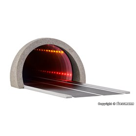 Viessmann 5098 Road tunnel modern, with LED mirroring- and depth effect