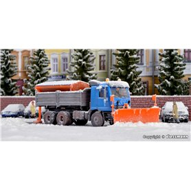 Kibri 15006 MB ACTROS with snowplough and spreader