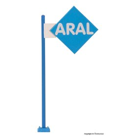 Viessmann 1376 ARAL sign with LED lighting