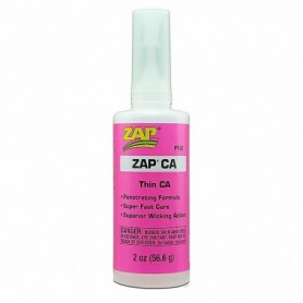 ZAP PT07 ZAP CA Superlim Pink Label Thin Viscosity, 2 oz, 56.6 gram