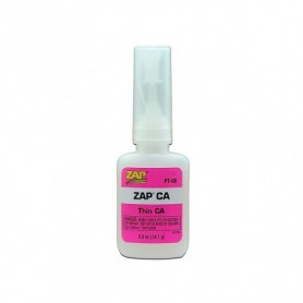 ZAP PT09 ZAP CA Superlim Pink Label, tunnflytande, 1|2 oz, 14.1 gram