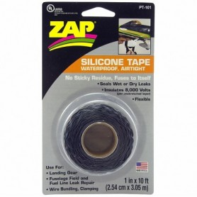 ZAP PT101 ZAP SILICONE TAPE 1' x 10 ft