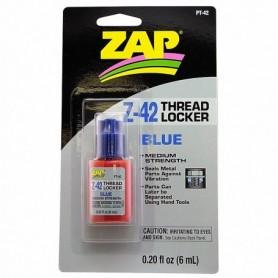 ZAP PT42 ZAP Z-42 BLUE THREAD LOCKER, skruvlås, 0.20 oz, 6 ml
