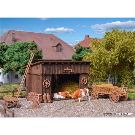 Vollmer 43741 Cattle shelter