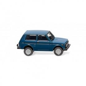 Wiking 20802 Lada Niva - azure blue