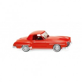 Wiking 25301 MB 190 SL Coupé - traffic red