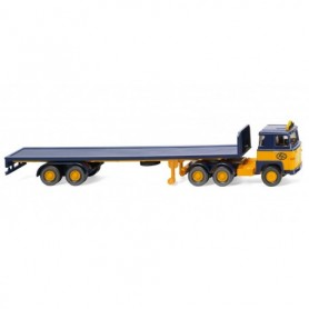 Wiking 55403 Flatbed tractor-trailer (Scania) 'ASG'