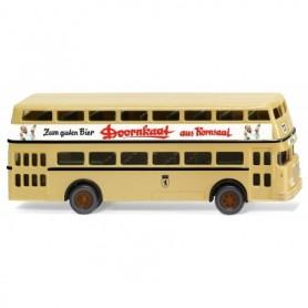 Wiking 72204 Double-decker bus D2U (Büssing) 'Doornkaat