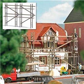 Busch 1372 Wooden scaffolding