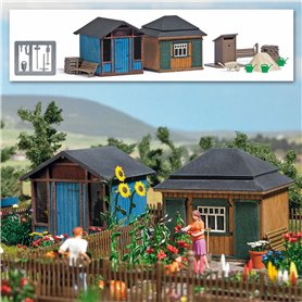 Busch 1617 Summerhouse set 2