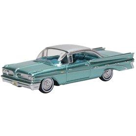 Oxford Models 133488 Pontiac Bonneville Coupe 1959 Seaspray Green