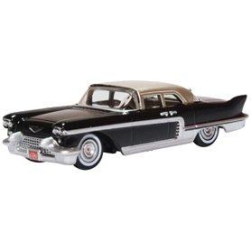 Oxford Models 129399 Cadillac Eldorado Brougham 1957 Ebony