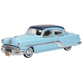 Oxford Models 129511 Pontiac Chieftain 4 Door 1954 Mayfair Blue/san Marino B